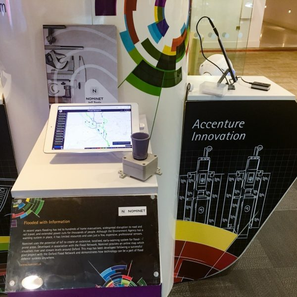Accenture showcase the Flood Network