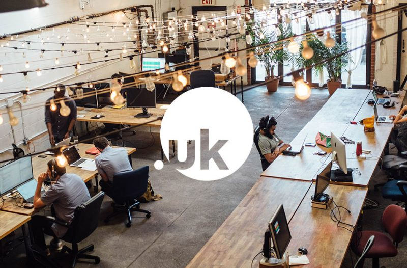 Shared office using .uk domain names