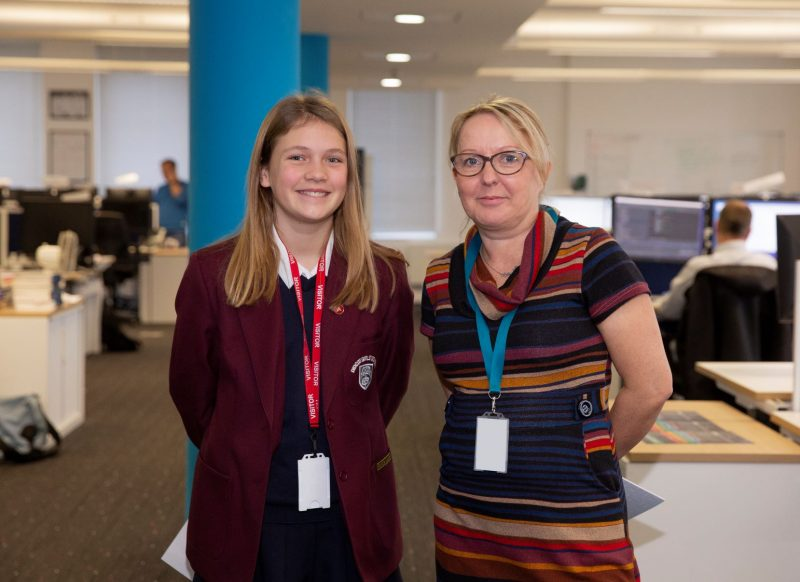 Izzy and Cath - Nominet Takeover Challenge