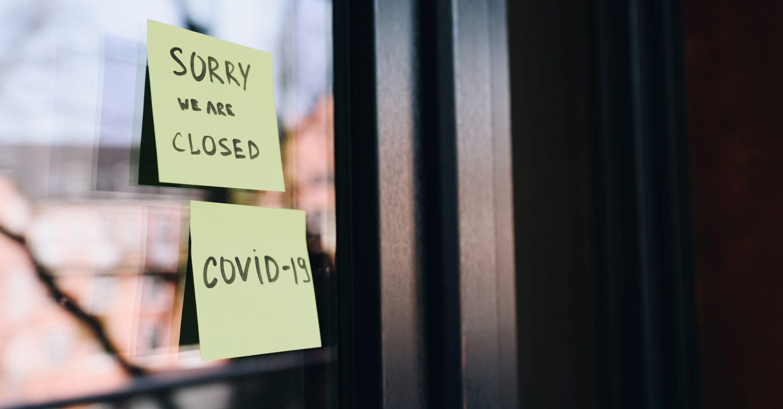 shop closed Covid19