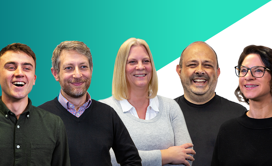 Five Nominet Employees smiling